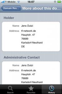 DomainScout Screenshot 1