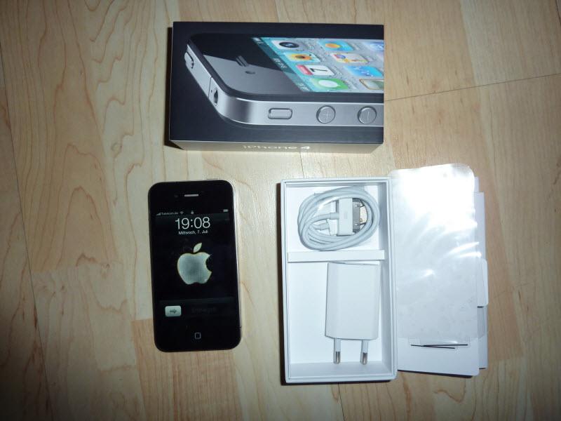 It's alive! It's alive! … Anruf Telekom Laden: iPhone 4 liegt bereit