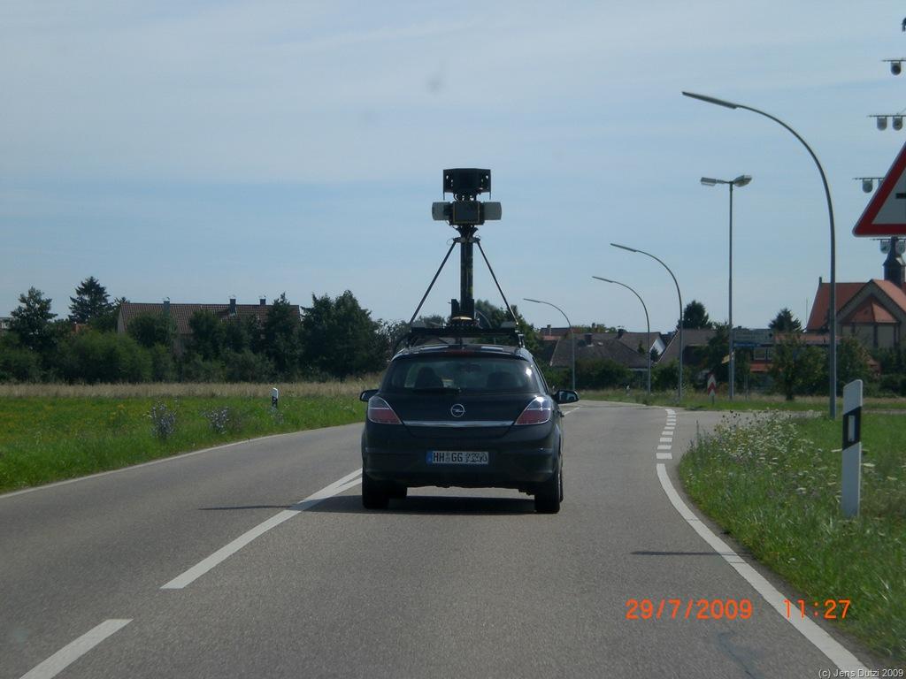 Die Sache mit Google StreetView…