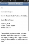 Mobiler MwSt Rechner 2.5 (Screenshot 5)