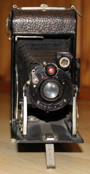 Eine nicht mehr ganz neue Kamera