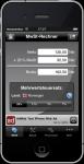 Mobiler MwSt-Rechner 3.0 / Screenshot 3