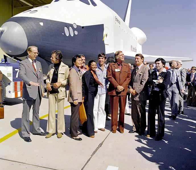 Historischer Wakeup Call für die Crew des Space Shuttle Discovery