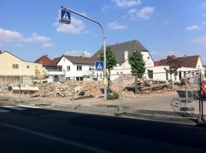Bauarbeiten in Neuthard