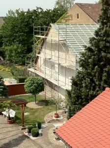 Bauarbeiten in Neuthard / Teil 2