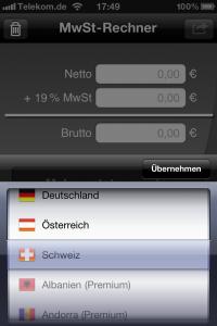 Mobiler MwSt-Rechner 3.0