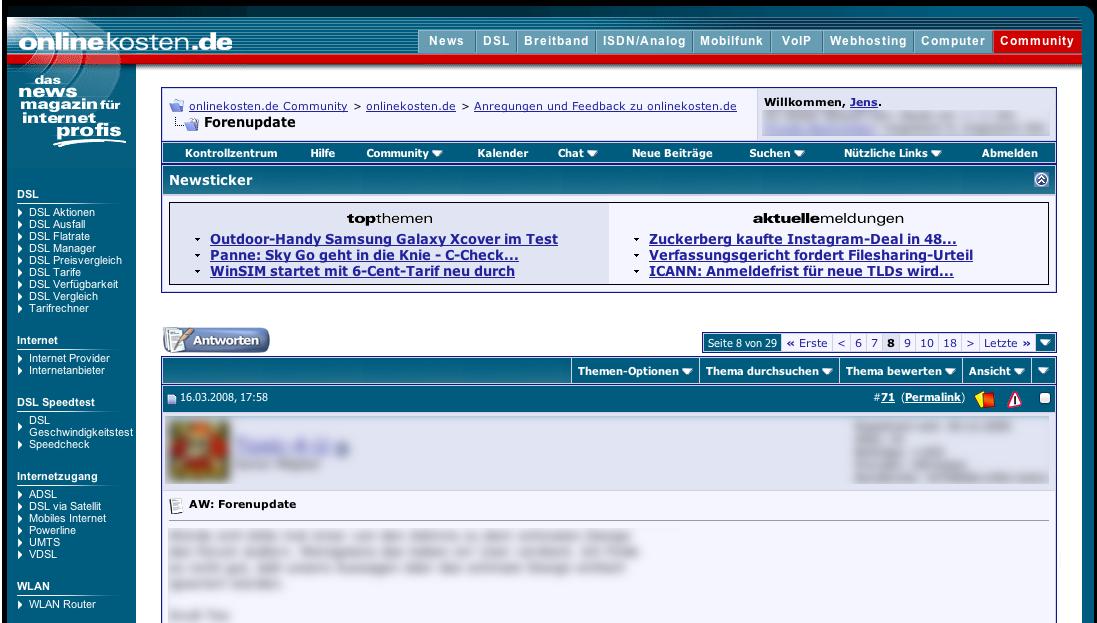Wie sich alles wiederholt: Vorhersehbare Nutzer-Reaktionen bei bestimmten Designänderungen auf Webseiten